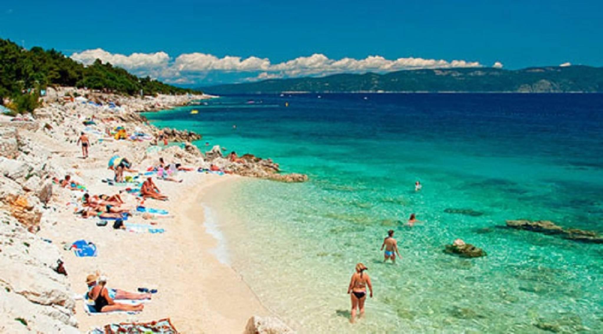 Foto spiagge rabac croazia 2