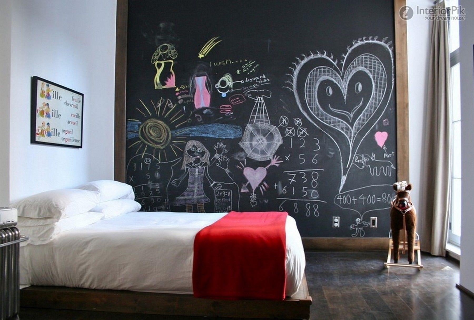 Come decorare le pareti con la vernice lavagna