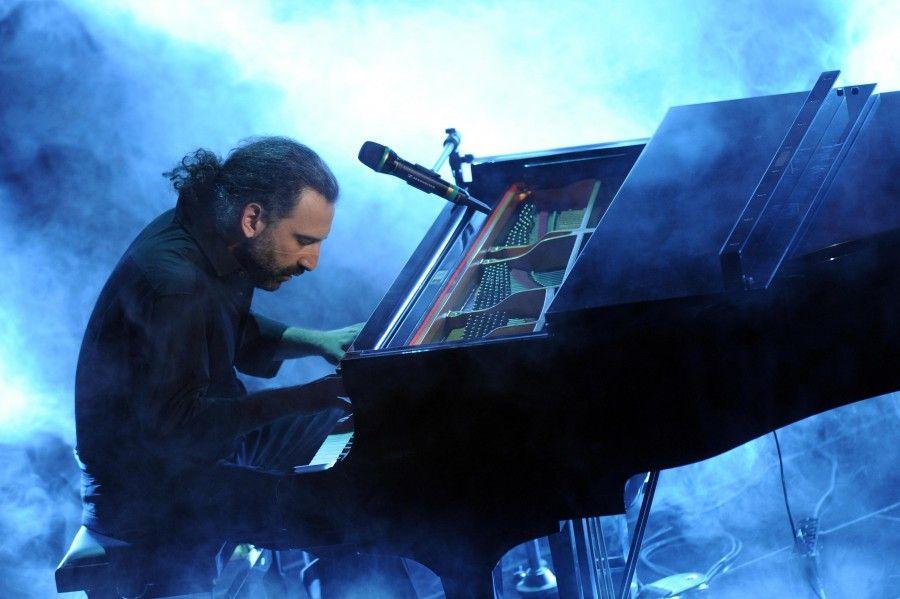 Italian jazz pianist Stefano Bollani
