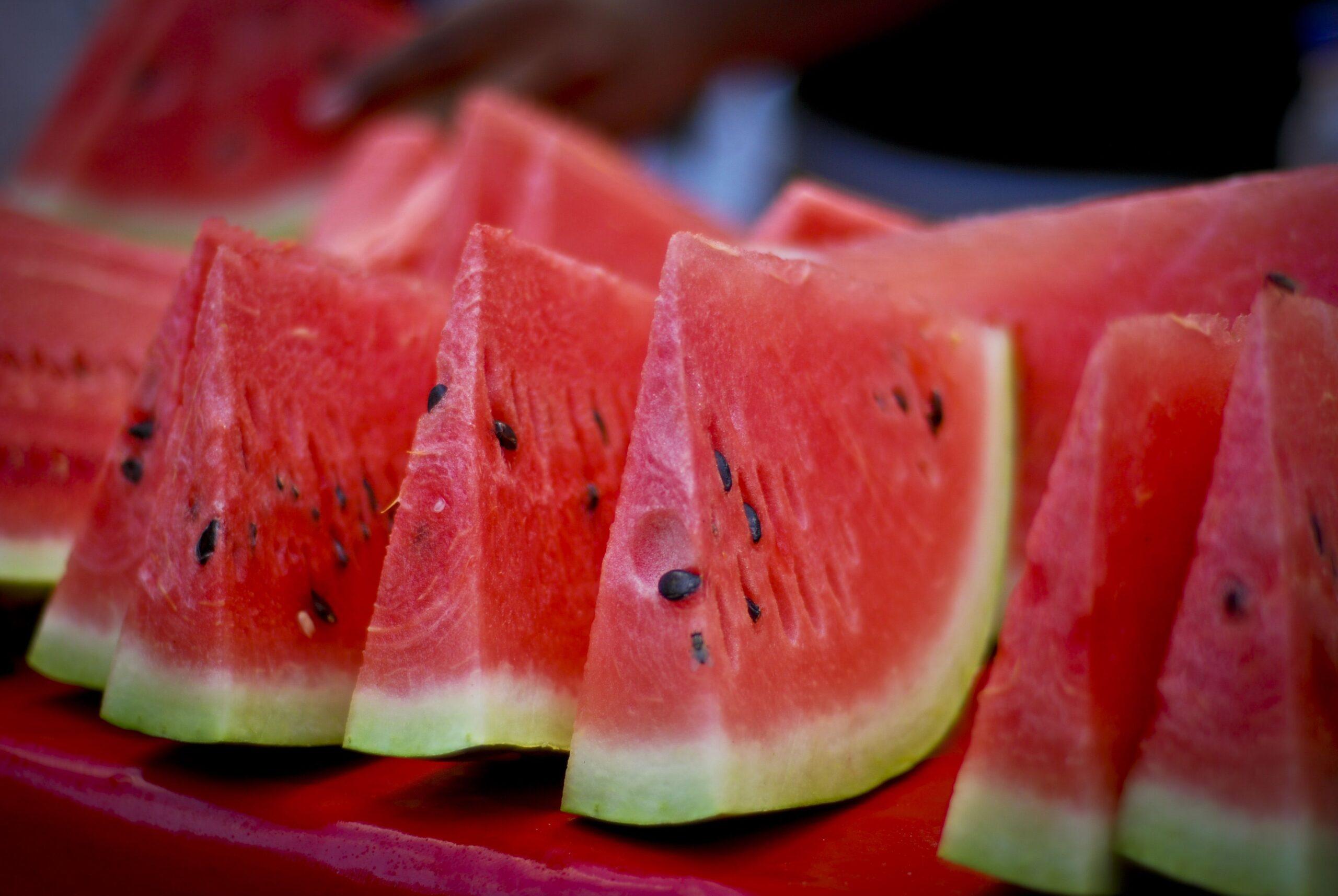 7 benefici dell'anguria