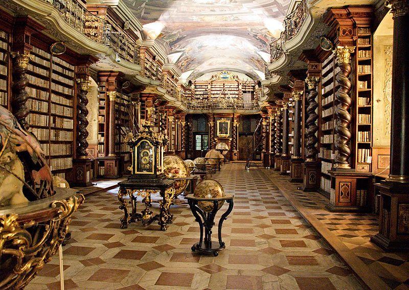 biblioteca-03Clementinum National Library