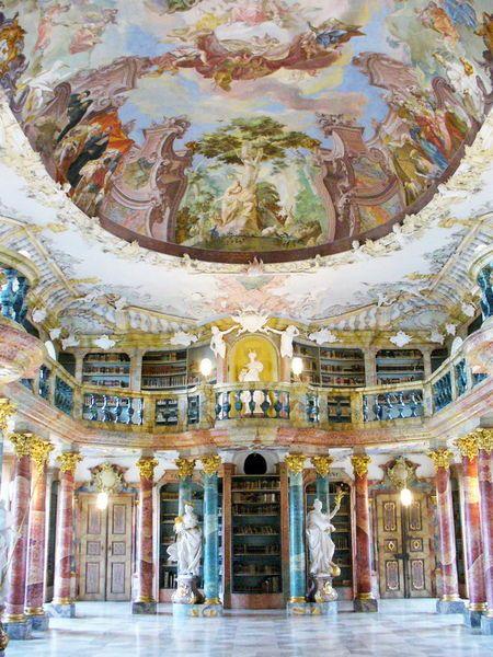 biblioteca-04Wiblingen Monastery