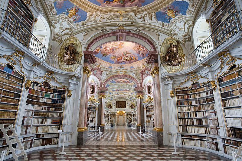 biblioteca-05Admont Abbey Library