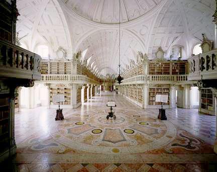 biblioteca-08Mafra Palace Library