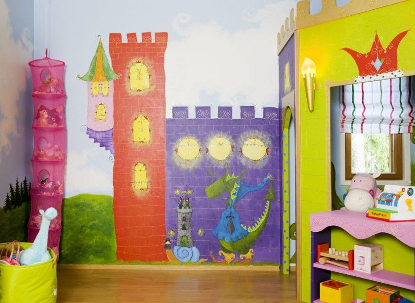 camera-bambini-castello