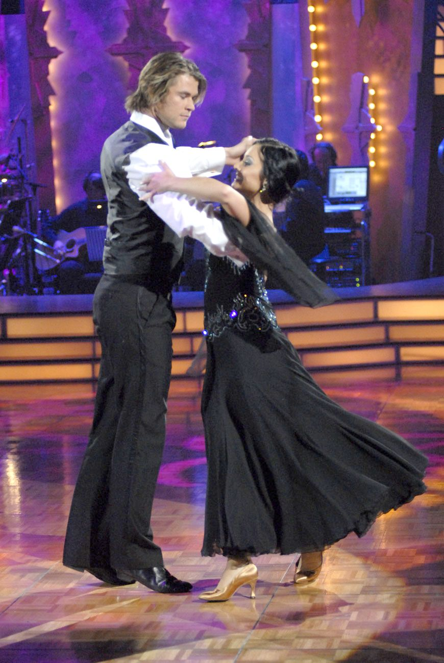 For Sunday Features - Chris Hemsworth on Australia Dancing with the Stars. CREDIT the Australian Network, SEVEN