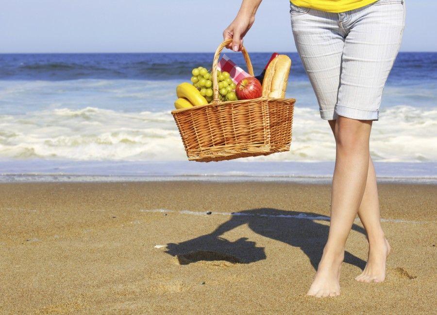 7 cibi sani da portare in spiaggia