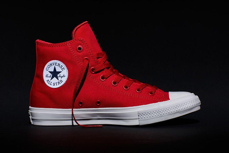 all star converse rosse alte