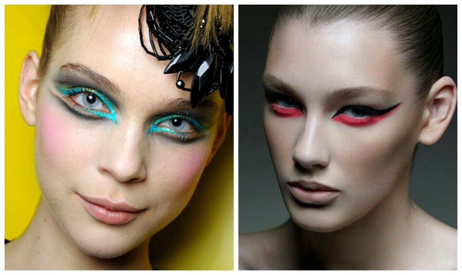 eyeliner coloratoCollage