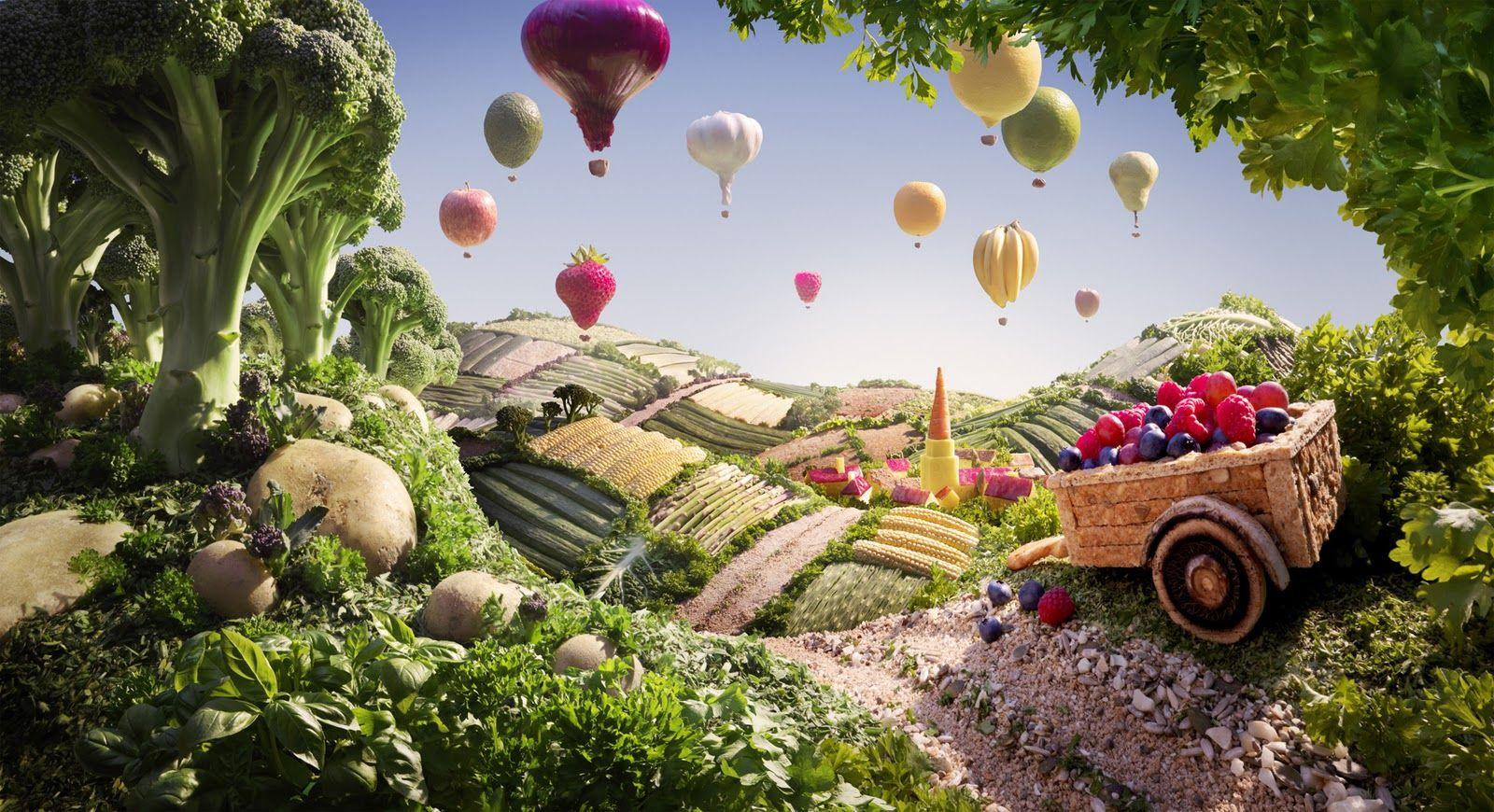 Opere d'arte fatte di cibo: le foto più belle