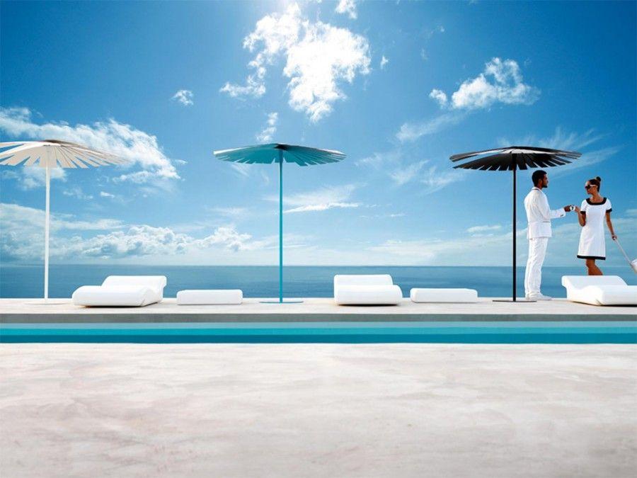 Il design in spiaggia accessori con stile bigodino for Design liegesessel