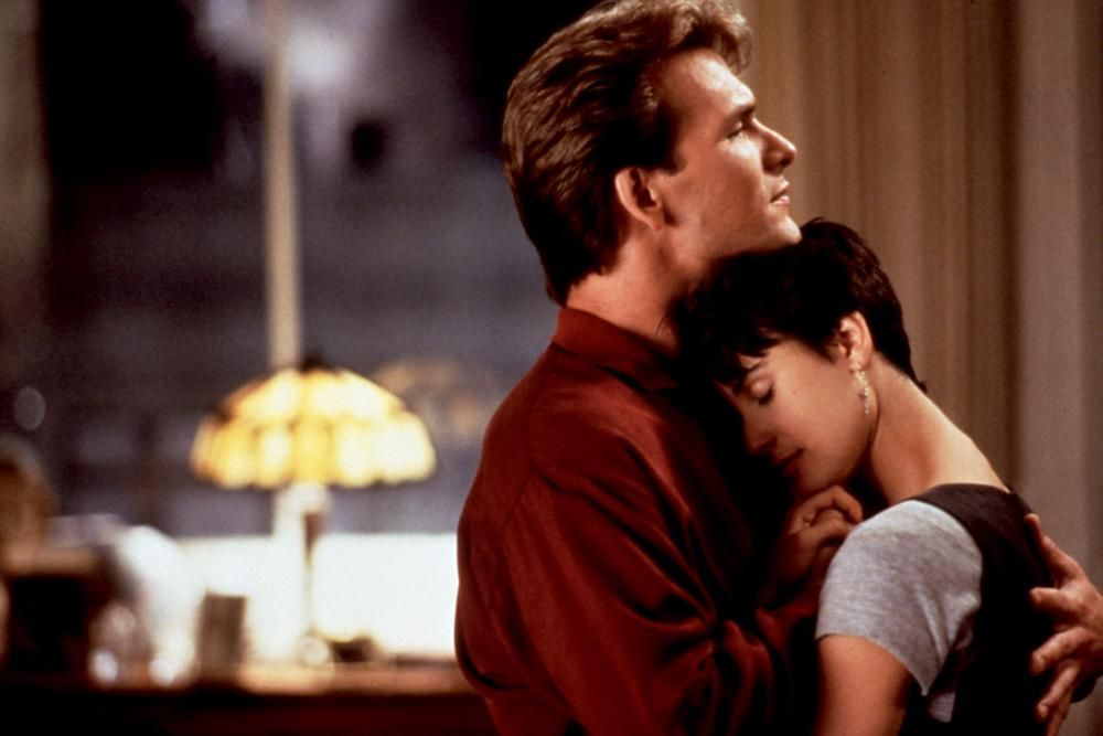 GHOST, Patrick Swayze, Demi Moore, 1990