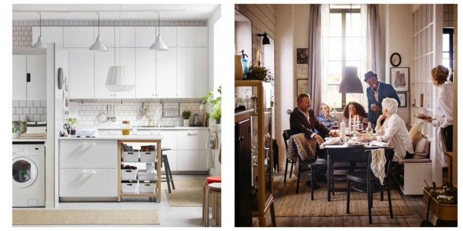 Emejing Sala Da Pranzo Ikea Photos - Idee Arredamento Casa ...