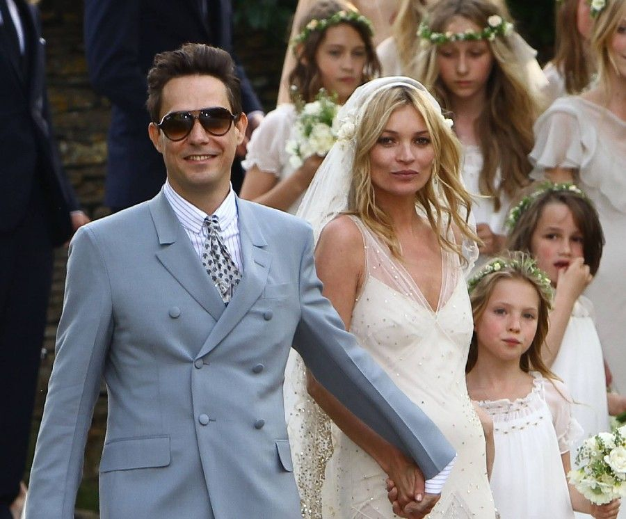 Kate Moss and Jamie Hince Wedding Day in the Cotswolds Cotswolds, England - 01.07.11 Mandatory Credit: WENN.com