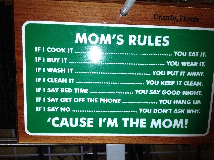 mamma-regole