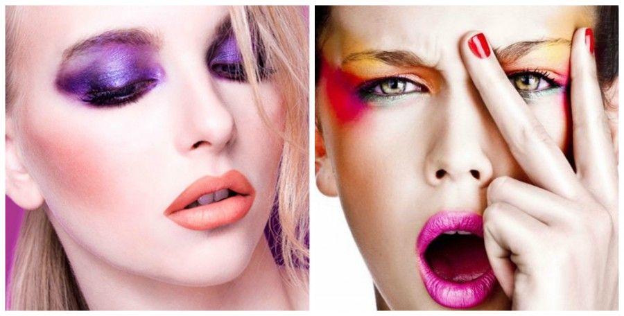 neon pop Collage