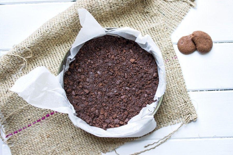 Favorito Torta con yogurt al cocco e biscotti al cioccolato senza cottura  WE19