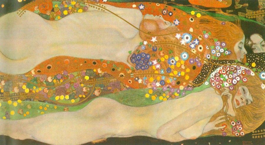 Water snakes (friends) II by Klimt.jpg