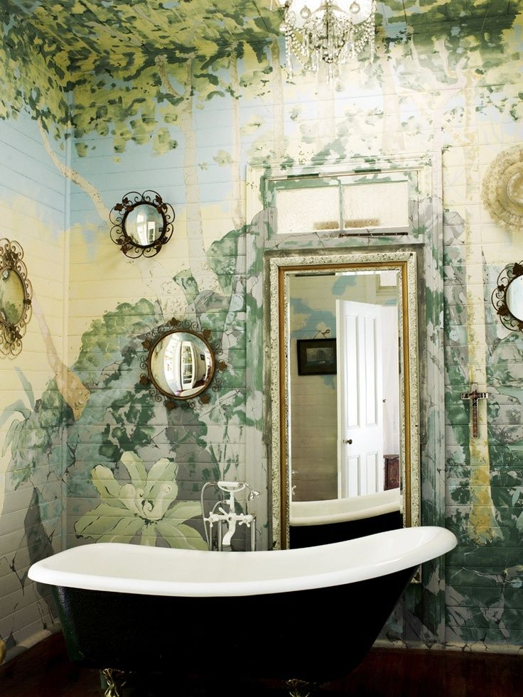 giardino nel bagno