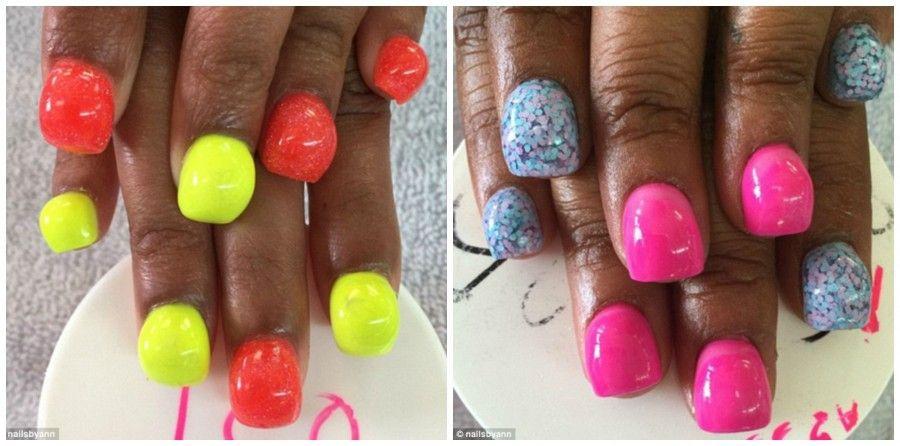 Bubble nail