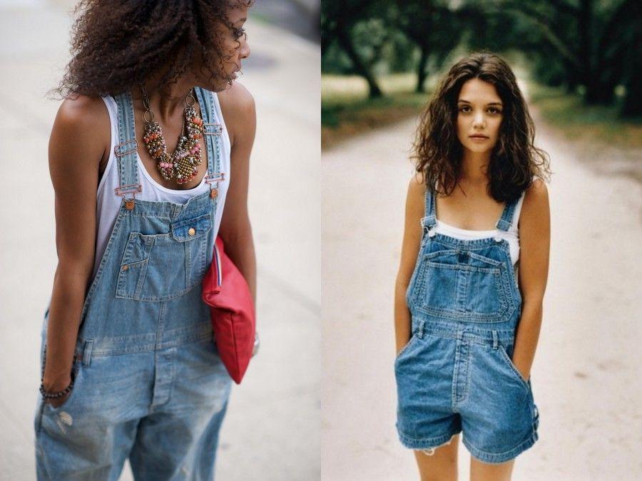 Overall di Jeans perfette da abbinare alle Clogs