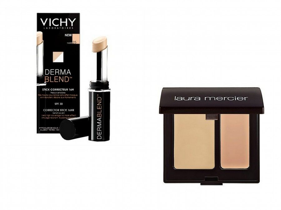 Secret Camouflage di Laura Mercier è DermaBlend di Vichy in stick