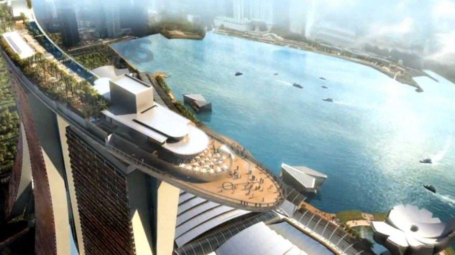 Marina Bay Sands di Singapore