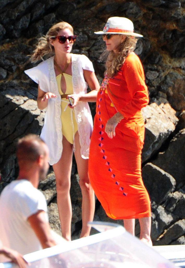 Olivia-Palermo-Yellow-Swimsuit-Ibiza