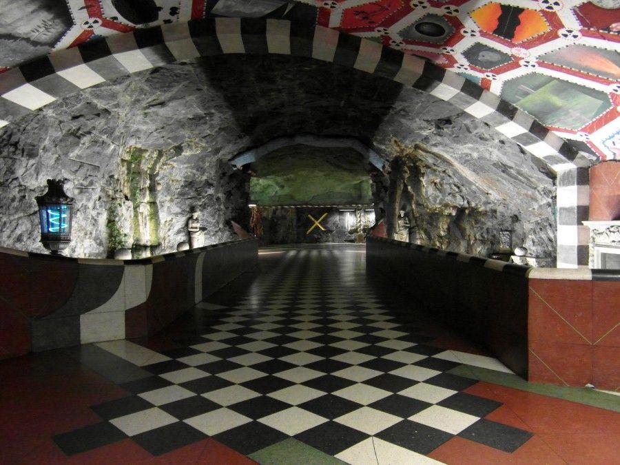 La Tunnelbana, arte in metro