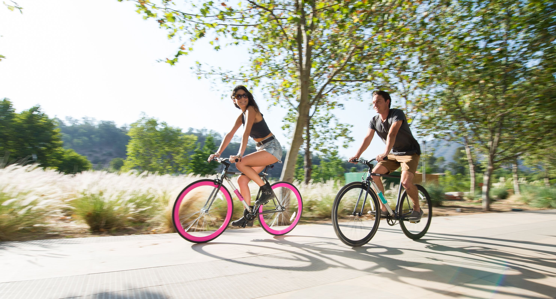 La bici permette di bruciare i grassi