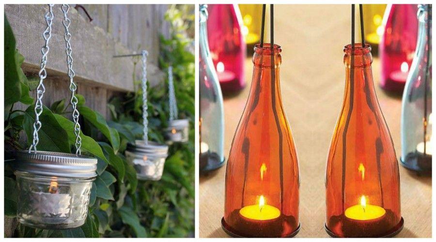 candele da appendere Collage