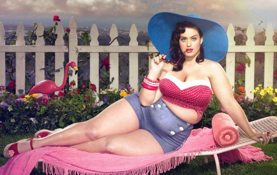 Spanish David, 20, has a part-time job photoshopping celeb babes to look fatter – at the request of blokes who fancy larger ladies. In the last year, David has received paid commissions from chubby chasers to Photoshop stars like Rita Ora, Michelle Keegan and even Frozen's Princess Elsa to look overweight. (PICTURE BY©David Lopera) Katy Perry PHOTOGRAPH PROVIDED BY IBERPRESS +39-3428017058 https://www.iber-press.com/ nimarafat@me.com