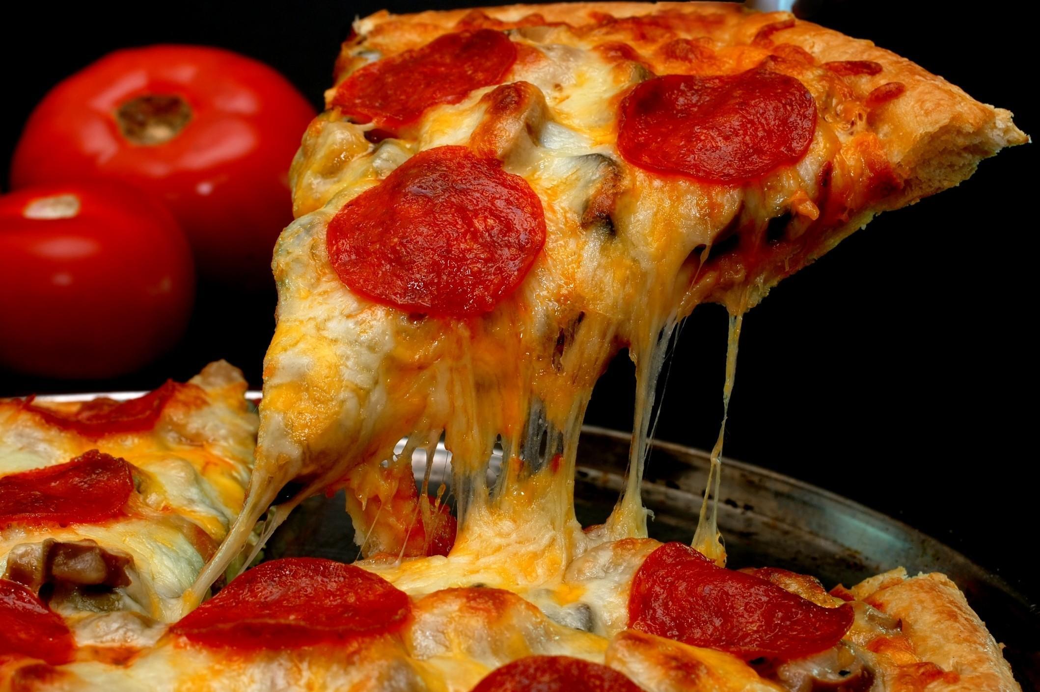 Pizza mon amour!