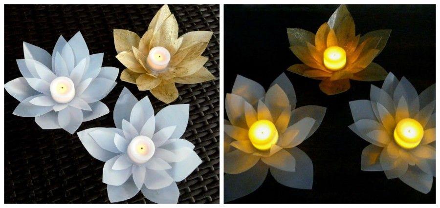 fiori di loto Collage