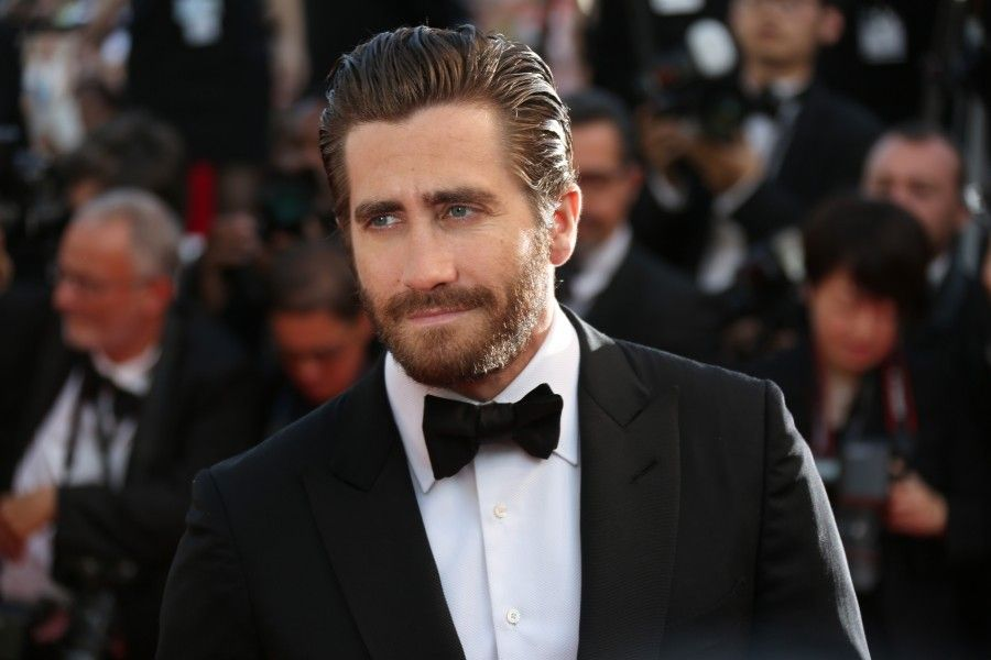Jake Gyllenhall poses for photographers upon arrival for the screening of the film Carol at the 68th international film festival, Cannes, southern France, Sunday, May 17, 2015. (Photo by Joel Ryan/Invision/AP)