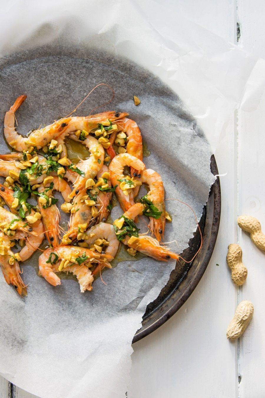 gamberetti-piastrati-con arachidi-lime-contemporaneo-food