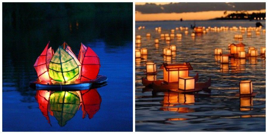 lanterne galleggiantiCollage