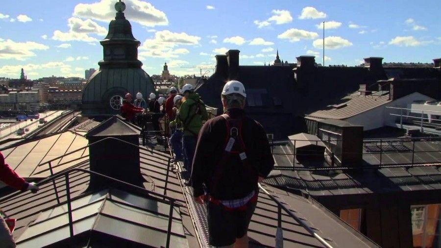 Sui tetti di Stoccolma
