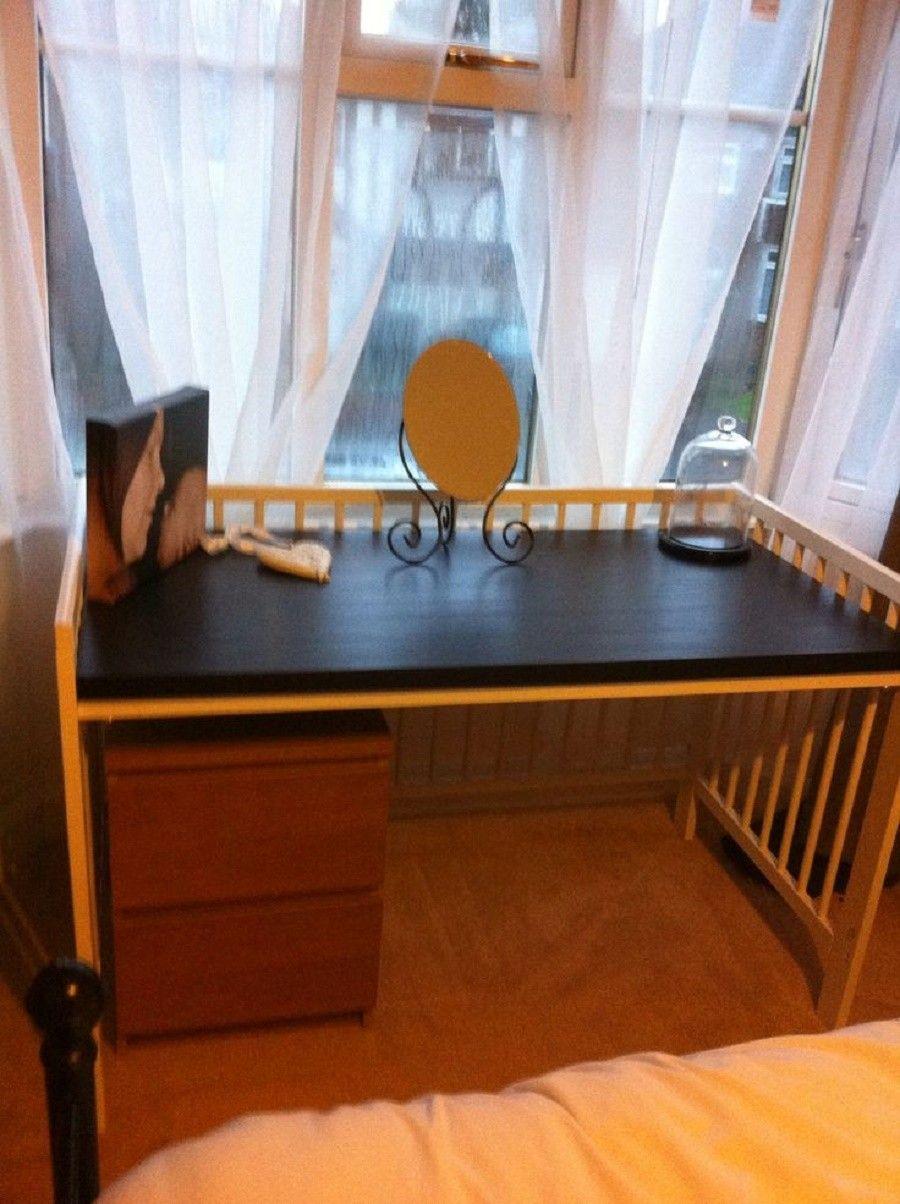 riciclare-lettini-scrivania