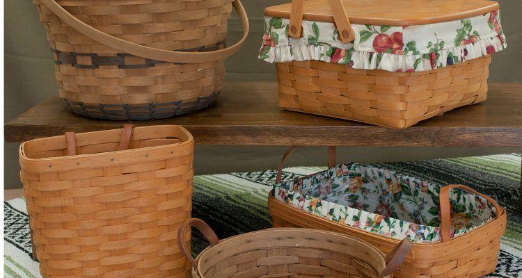Come riciclare vecchie ceste e mettere in ordine la casa bigodino - Riciclare tutto in casa ...
