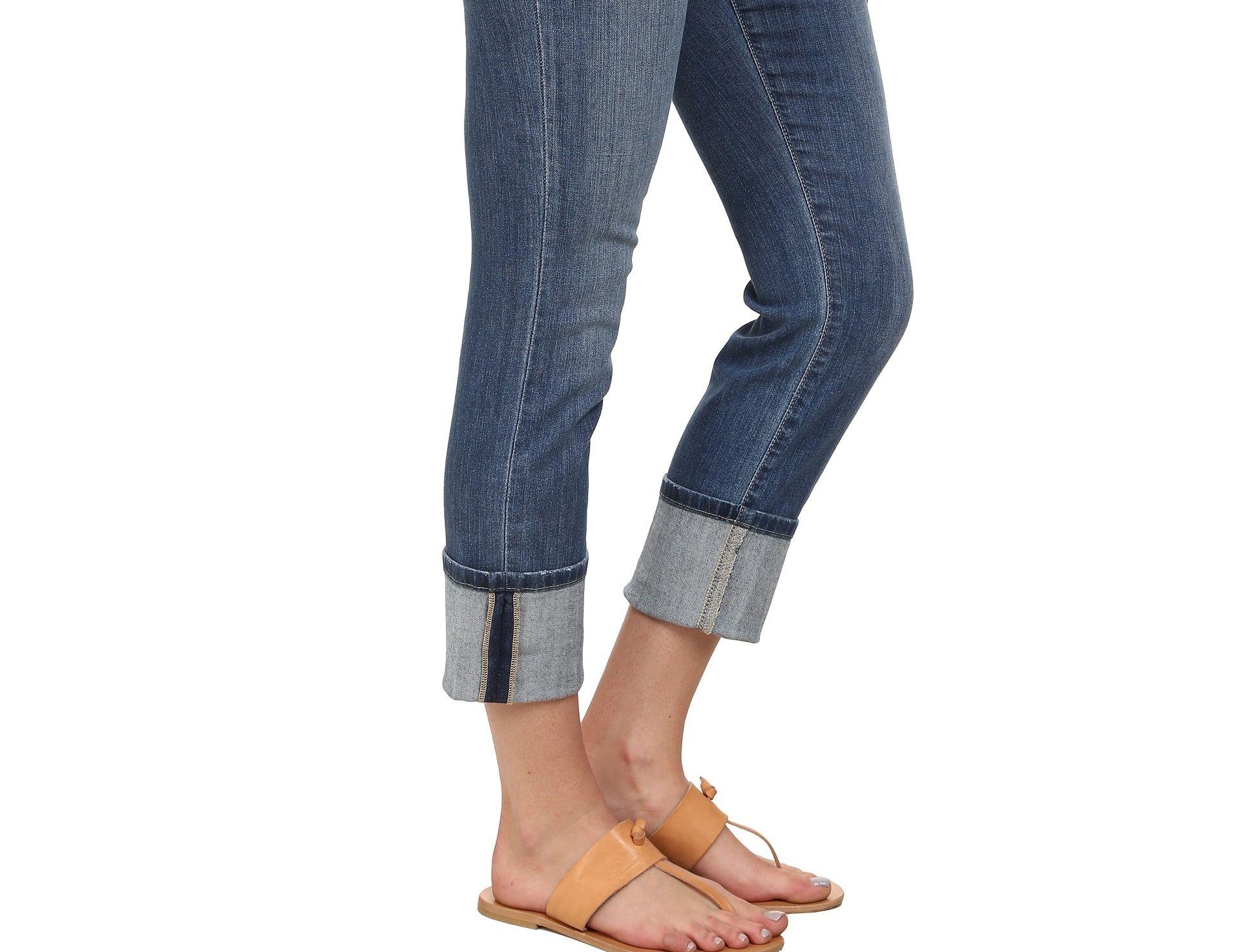 Come fare il risvolto perfetto ai jeans