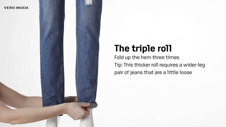 I differenti tagli di jeans e pantaloni