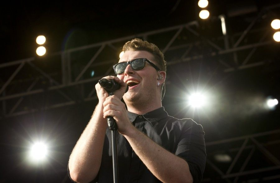 Sam Smith performs at the Austin City Limits Music Festival in Zilker Park on Friday October 10, 2014.  JAY JANNER / AMERICAN-STATESMAN