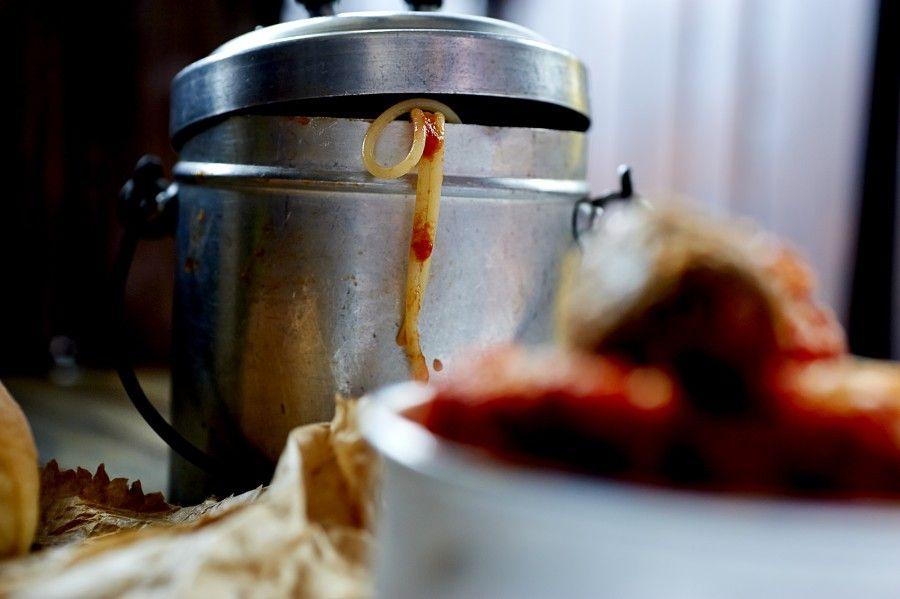 spaghetti di polpette alle melanzane 5 copia
