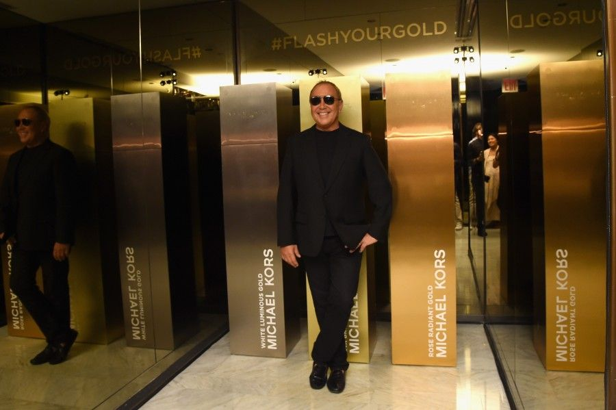 NEW YORK, NY - SEPTEMBER 13:  Designer Michael Kors attends the new Gold Collection fragrance launch hosted by Michael Kors featuring Duran Duran at Top of The Standard Hotel on September 13, 2015 in New York City.  (Photo by Larry Busacca/Getty Images for Michael Kors)