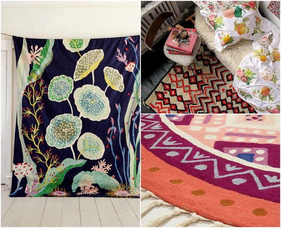 tappeti caldi e colorati