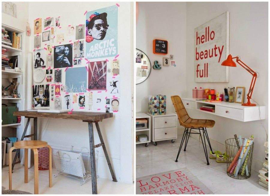 zona studio per teenager