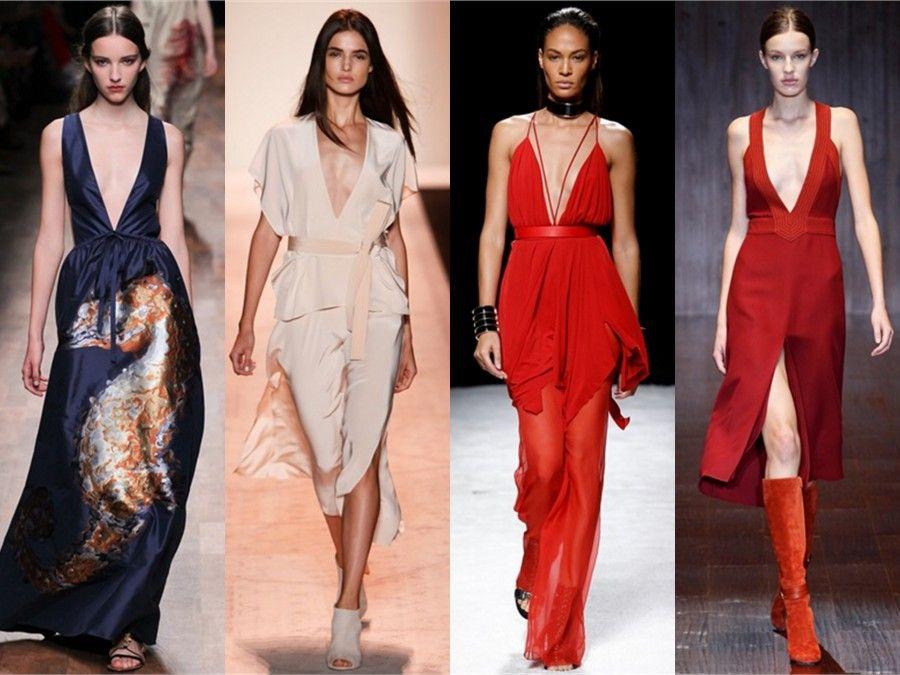 In passerella per la MFW di Valentino,BCBG Max Azria , Balmain e Gucci