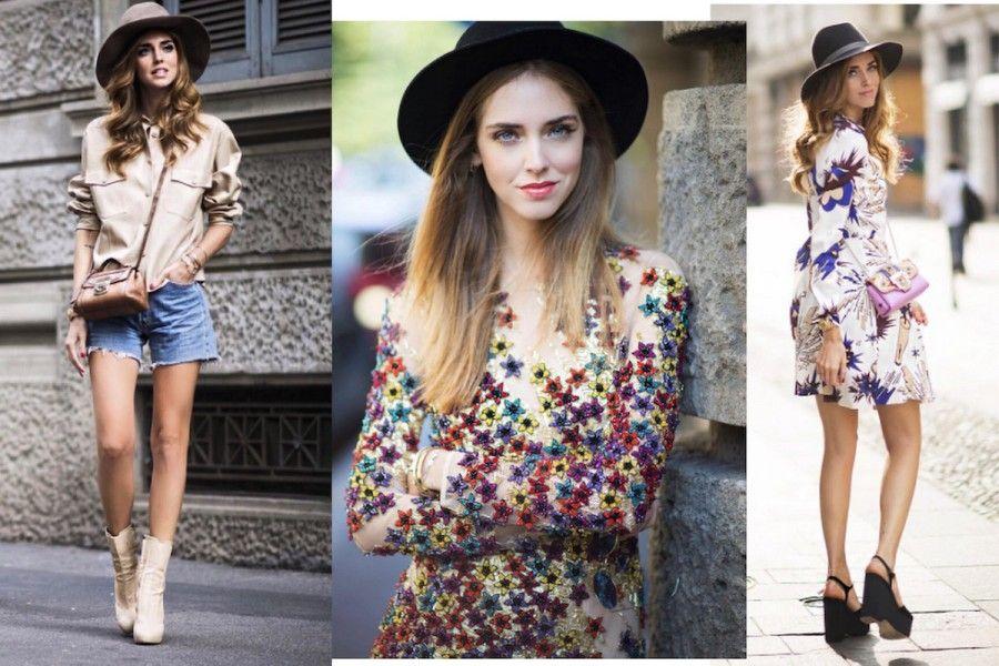 3 looks di Chiara Ferragni