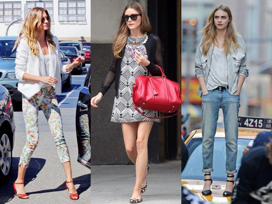 Causal look indossati da 3 maestre di stile: Gisele Bundchen, Olivia Palermo e Cara Delevingne